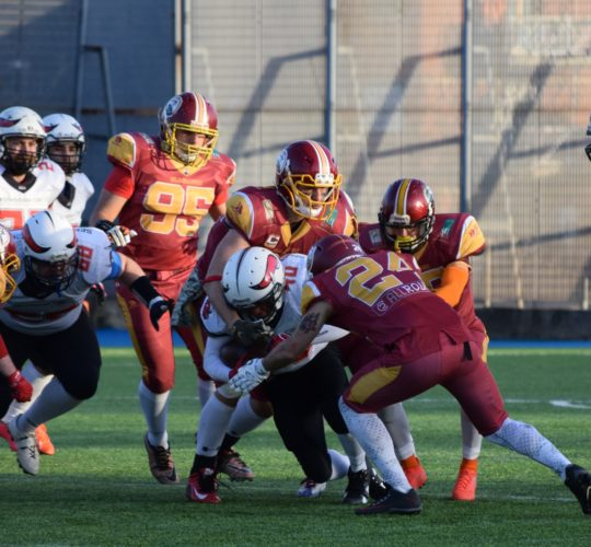Week 1 Gallery: Gladiatori Roma vs Mad Bulls Barletta